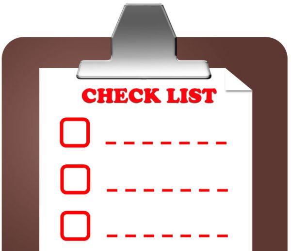 Checklist per pubblicare un post