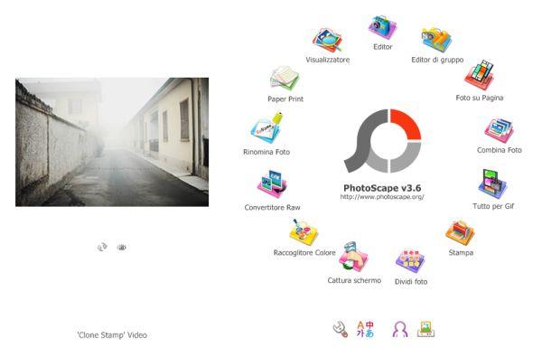 Creare collage di foto con Photoscape