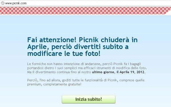 picnick-chiude