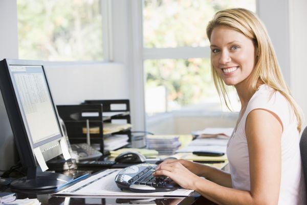 Il blogger lavora da casa?