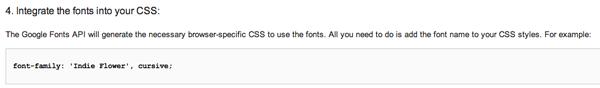 Aggiungere Codice CSS