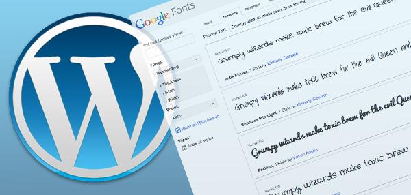 Personalizzare i titoli degli articoli usando Google Font