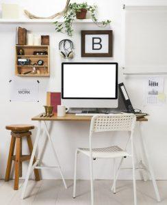 Modern creative workspace