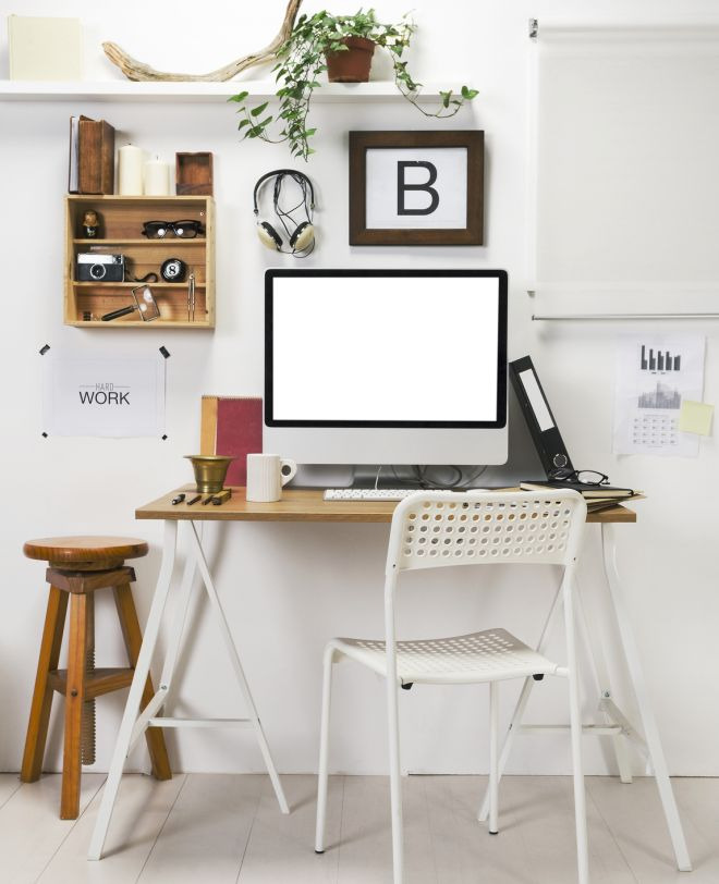 Modern creative workspace