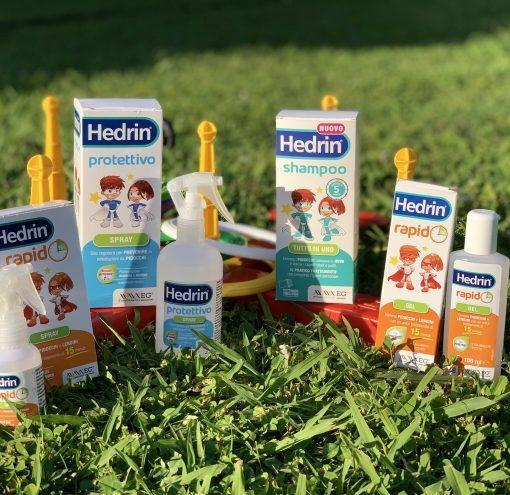 HEDRIN – Come eliminare i pidocchi e le uova